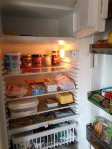 Gefrierfach im Kühlschrank abtauen 4