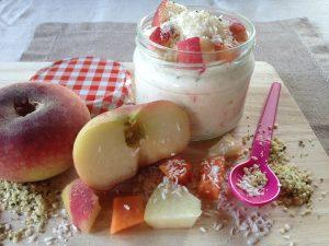 Joghurt Weinbergpfirsich 2