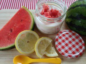 Melonen-Zitronen-Tannenhonig Joghurt 2