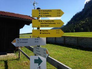 Wanderung zur Rohrkopfhütte