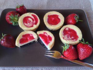 Oreo-Erdbeer-Cheesecake Muffins 11