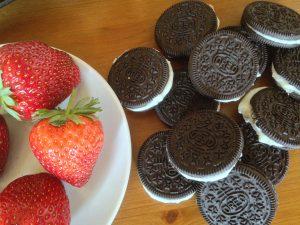 Oreo-Erdbeer-Cheesecake Muffins 5