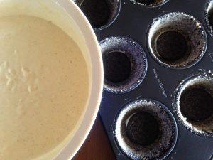 Oreo-Erdbeer-Cheesecake Muffins 6