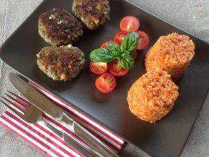 Zuccini-Käse-Buletten