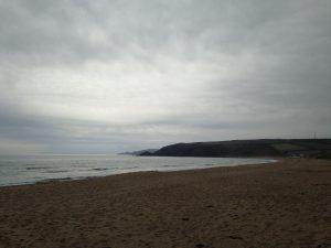 Praa Sands Beach an der Südküste Cornwalls 01
