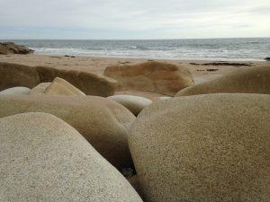 Steinriesen an der Südküste Cornwalls
