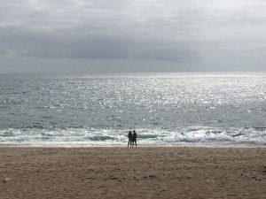 Wanderung von Porthleven zum Loe Bar Beach