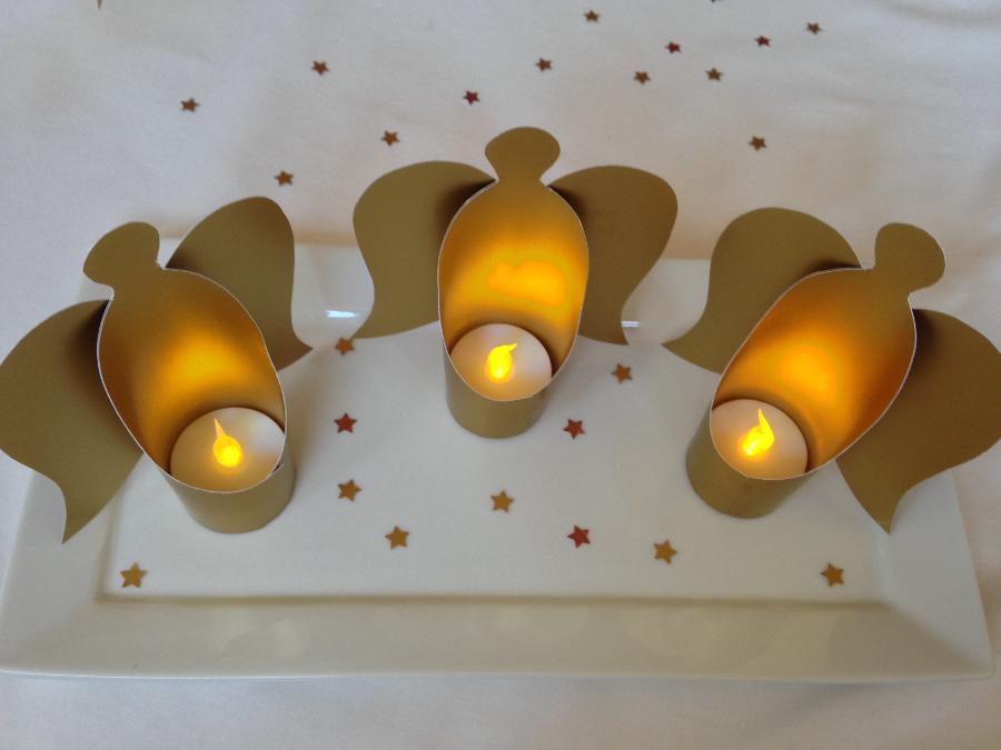 diy lichtengel im goldenen gewand bee in flipflops. Black Bedroom Furniture Sets. Home Design Ideas