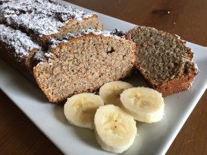 Bananenbrot mit Kokos - ballaststoffreich