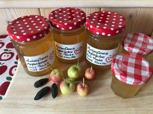 Leckeres Apfelgelee mit Xylit und Agar-Agar