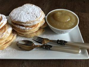 Rezept für fluffige Pancakes mit Buttermilch