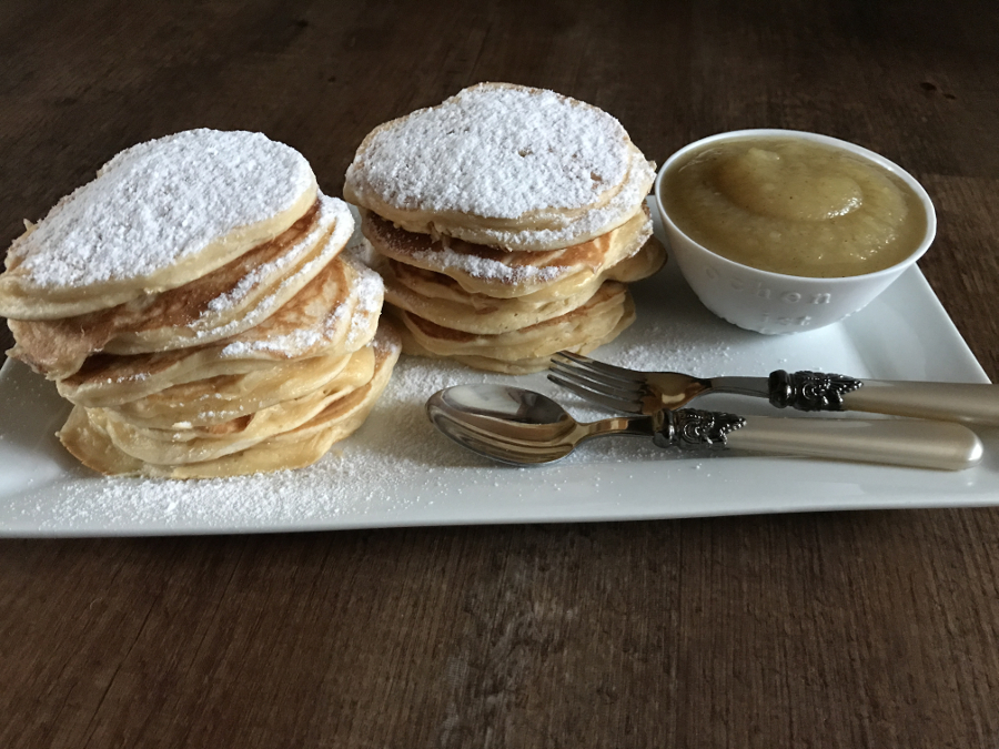 pancakes mit buttermilch rezept bee in flipflops. Black Bedroom Furniture Sets. Home Design Ideas