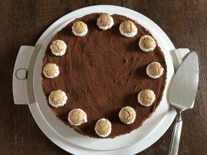Rezept Tiramisu Torte ohne Ei in der Creme