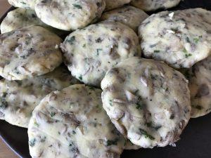 Kartoffel-Pilz-Laibchen glutenfrei Rezept