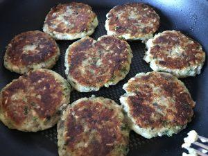 Glutenfreies Rezept für Kartoffel-Pilz-Laibchen