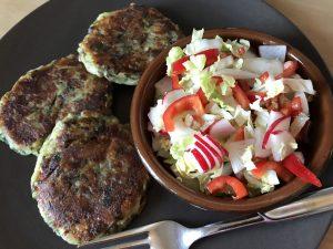 Kartoffel-Pilz-Laibchen glutenfrei