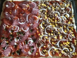 Pizza mit glutenfreiem Boden backen