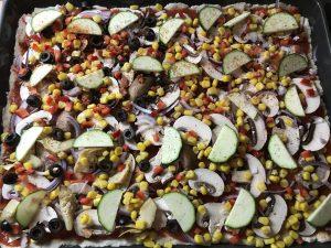 Glutenfreier Boden für Pizza