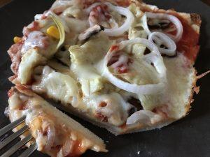 Pizza mit glutenfreiem Boden für Genießer