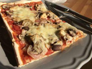 Glutenfreie Pizza backen - ganz leicht