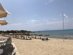 Strand von Kyllini - Richtung Zakynthos