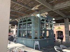 Strandbar am Kyllini Strand