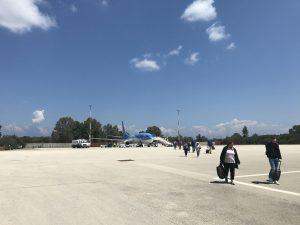 Flughafen Araxos/Patras auf Peloponnes