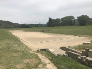 Antikes Stadion von Olympia - Peloponnes