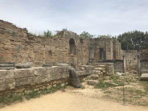 Alte Tempel in Olympia - Peloponnes