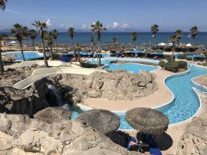 Poolanlage am Kyllini Strand auf Peloponnes