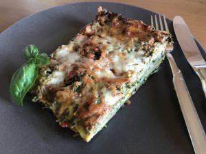 Spinatlasagne - glutenfrei, Klassische Lasagne mal anders