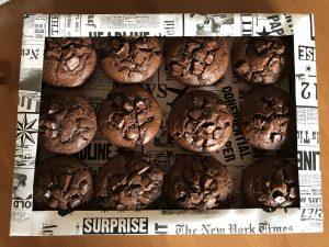 12 Muffins verpacken als Geschenk
