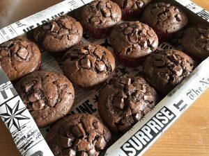 12 Muffins als Geschenk verpacken