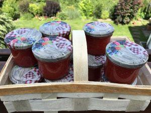 Erdbeermarmelade - süß und fruchtig