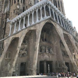 Städtereise Barcelona - Sagrada Familia Eingang