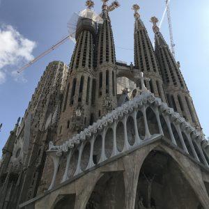 Städtereise Barcelona - Sagrada Familia Türme