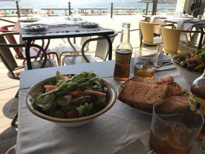 Essen am Platja Bogatell Barcelona