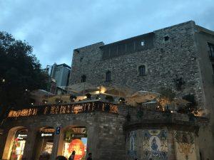 Restaurant im gotischen Viertel Barcelona