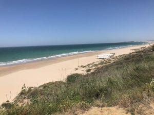 Playa La Barrosa Andalusien