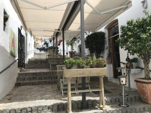 Treppen Restaurant in Vejer de la Frontera