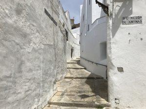 Enge, weißgetünchte Hausfassaden in Vejer de la Frontera