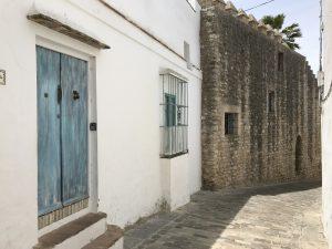 Alte Mauerstücke in Vejer de la Frontera
