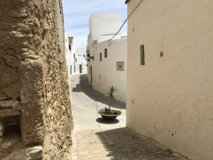Enge Gassen im weißen Dorf - Vejer de la Frontera