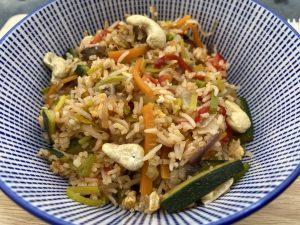 Reisgericht aus Indonesien - Nasi Goreng